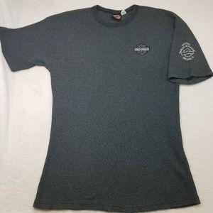 Harley Davidson Short Sleeve Waffle Shirt Large